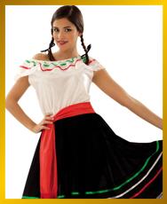 Como hacer un vestido para las fiestas patrias